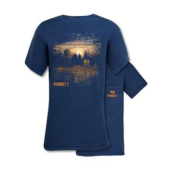 Southern Couture Priority Deer Stand Pocket Unisex T-Shirt