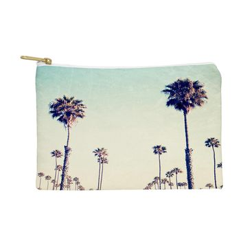 Bree Madden California Palm Trees Pouch