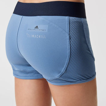 Hot Yoga Short Shorts in Storm Blue