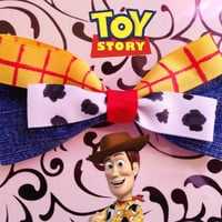 Woody- Disney/Pixars Toy Story Inspired Bow