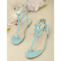 Candy Color Sandals with Cute Studs for Women YUTY061621