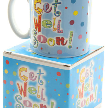 "Burton & Burton ""Get Well Soon"" Mug"