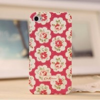 Rural rural style Postoral Floral Rose Iphone 4/ 4s case