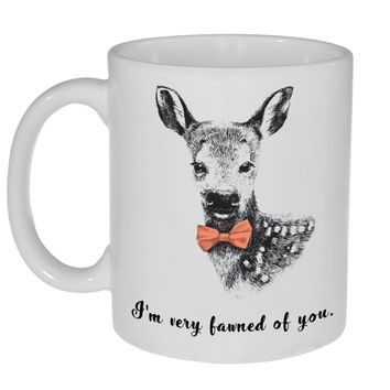 I'm Very Fawn of You Coffee or Tea Mug