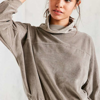Silence + Noise Rookie Velvet Cowl-Neck Top - Urban Outfitters
