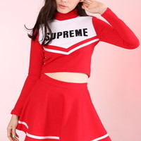 Glitters For Dinner — Made To Order - Team Supreme Cheerleading Set