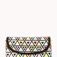 Pastel Geo Travel Cosmetic Case