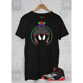 newest 5e697 afe43 Air Jordan Retro 7 Marvin Martians Adult Unisex T Shirt