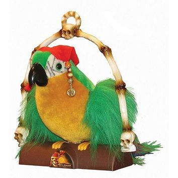 Pirates of the Caribbean Dead Man's Chest - Cotton's Talking Parrot