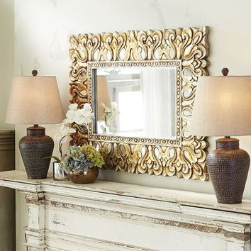 Vilano Carved Mirror