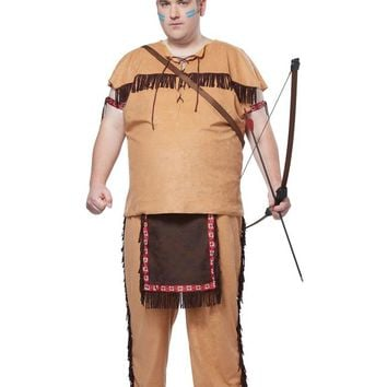 California Costumes Male Native American Brave Costume CC01728