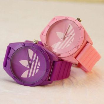 DCCKSP2 Adidas Silicone Strap Watch - Candy color