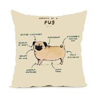 Anatomy of a Pug Pillowcase
