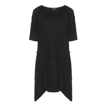 Vincenzo Allocca Dress with Unique Hem and Inside out Seams