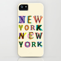 New York New York iPhone & iPod Case by Fimbis