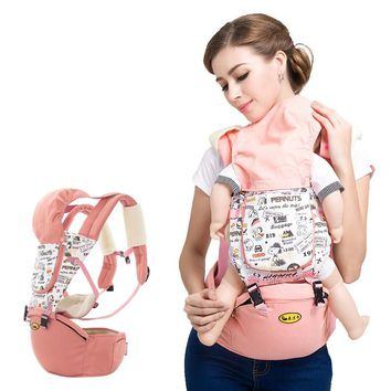 Backpacks & Carriers Activity & Gear Mother & Kids Multi-function shoulders baby carrier baby waist straps cotton free size hot