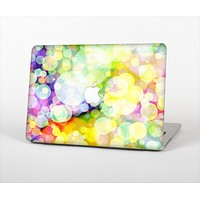 """The Glistening Colorful Unfocused Circle Space Skin Set for the Apple MacBook Pro 15"""""""