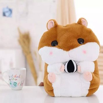 Cute Lop 40cm Hamster Lolita Backpack White Plush Cricetulus Cosplay Inside Princess Sweet Bag Loppy Guinea Pigs