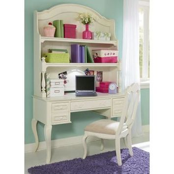Legacy Charlotte Desk And Chair In Antique White