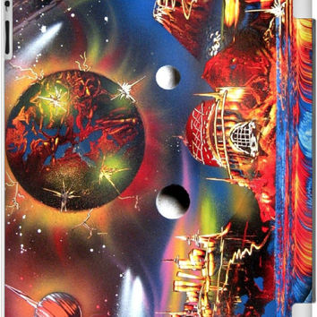 Trippy In Space One of A Kind for iPad 2, 3, & 4 Case