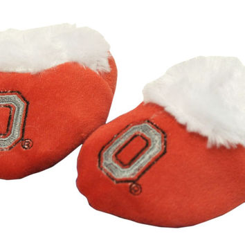 Ohio State Buckeyes Slippers - Baby Booties