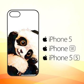 Panda Paint O0435  iPhone 5|5S|SE Case
