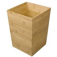 Rexel Bamboo Waste Bin (100% Recyclable Sustainable Bamboo)