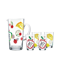 I liked this design on #Fab. Pretty Pantry Pitcher & Glasses