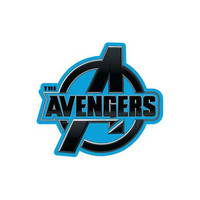 Avengers Logo Iron-On Patch