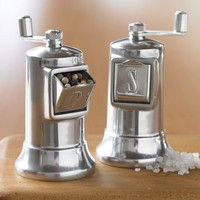 Perfex Salt & Pepper Mills, 4 1/2"