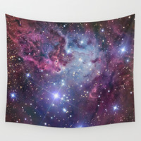 Nebula Galaxy Wall Tapestry by RexLambo