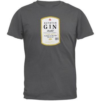 PEAPGQ9 Phish - Bathtub Gin Label Adult T-Shirt