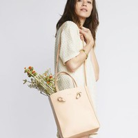 Simone Crossbody Shopper Natural Vachetta