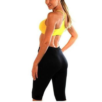 Women Hot Shapers Super Stretch Super Control Panties Slimming Body Shaper Pant Stretch Neoprene