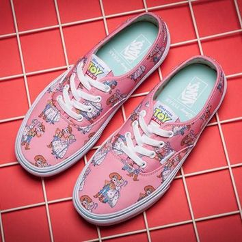 Vans X Toy Boy Canvas Old Skool  Flats Shoes Sneakers Sport Shoes
