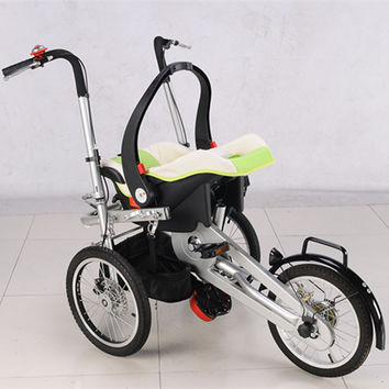 New Arrival Baby Stroller 2017 Tricycle For Babies Boy Girls 3 Wheels Trolleys for 0-6 years old babies Support 100kg in a Bike