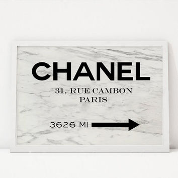 COCO CHANEL DECOR, Original Chanel Paris, Modern Wall Art,Fashion Print,Fashionista, Digital Print,Girls Room Decor,Coco Chanel Quote