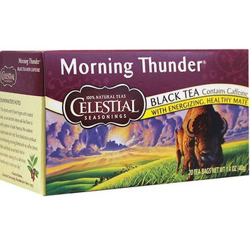 Celestial Seasonings Morning Thunder Herb Tea (3x20 Bag)