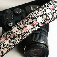 Flowers Camera Strap. Canon Nikon Camera Strap. Photo Camera Accessories