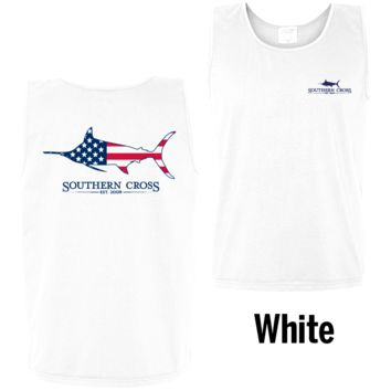 American Marlin Tank Top