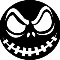 Custom Personalized vinyl sticker decal, Disney Nightmare Before Christmas Vinyl Sticker. Great for cars, lockers, Halloween and much more