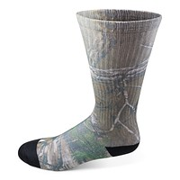 Men's Realtree Camo Crew Sock
