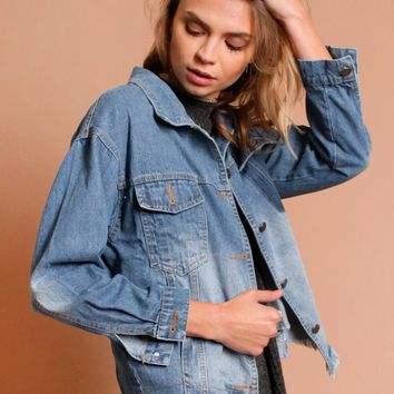 Disclosure Denim Jacket | Threadsence