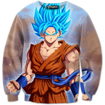 Goku Super Saiyan God Crewneck