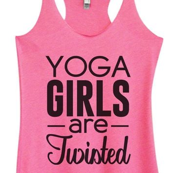 Womens Tri-Blend Tank Top - Yoga Girls Are Twisted