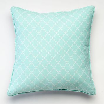 Happy Chic by Jonathan Adler Nina Reversible Throw Pillow (Green)