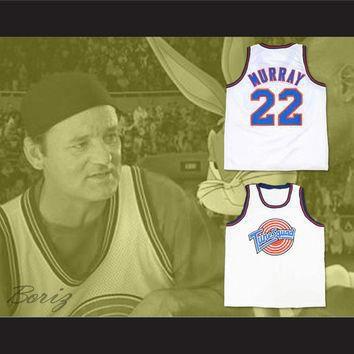 Bill Murray Space Jam Tune Squad Basketball Jersey Jordan Any Size Made to Order ALL S