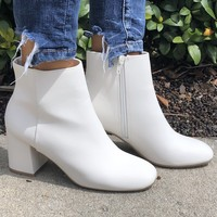Night Out Booties- White