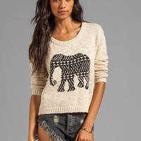 MINKPINK Pride of Place Jumper in Natural from REVOLVEclothing.com