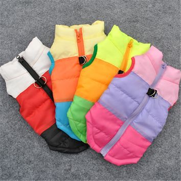 Pet Clothes Dog Cat Sleeveless Vest Halloween Costume Warm Pet Coat Harness Puppy Costume Apparel Dog Jacket Outfit